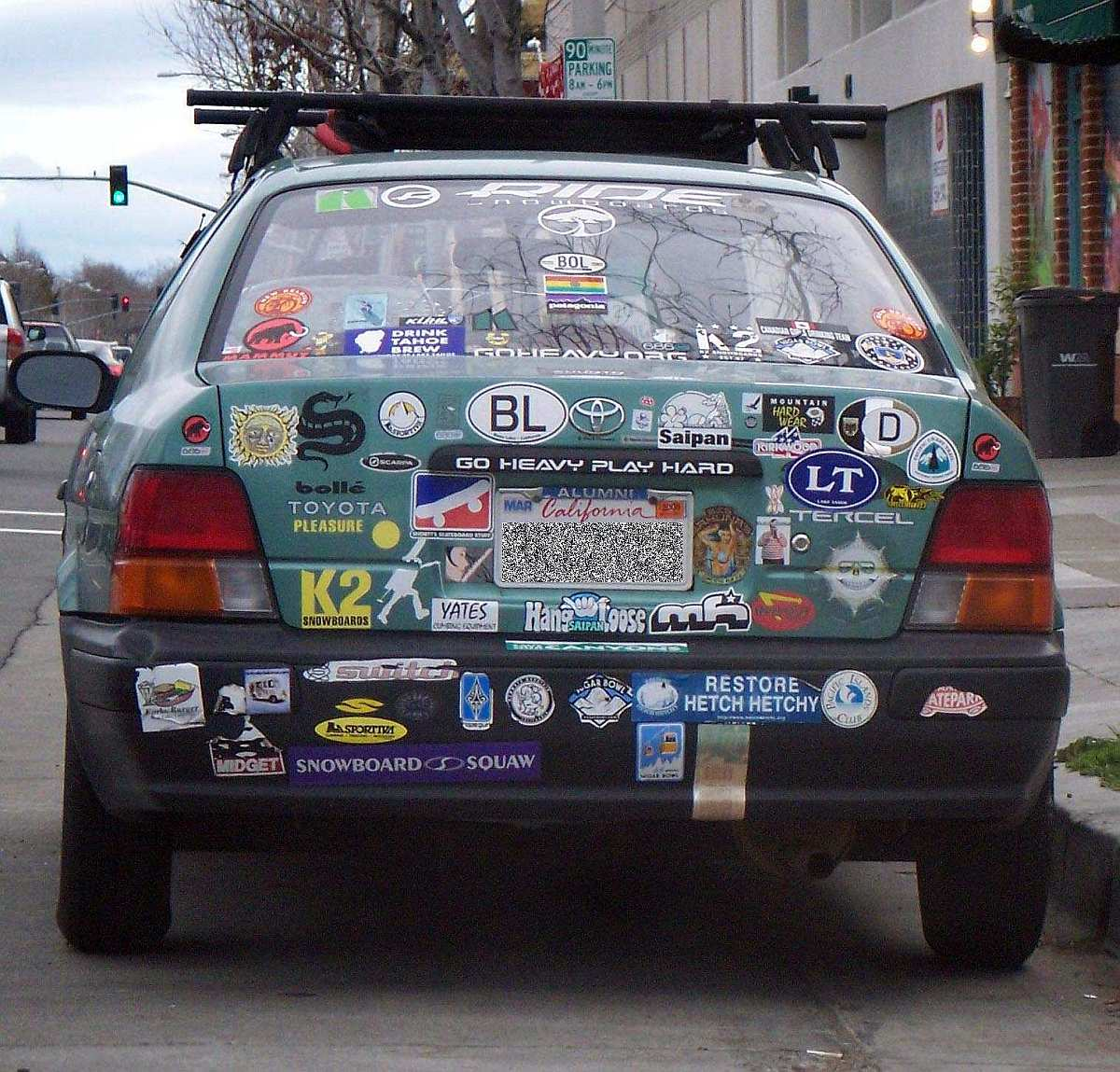 Bumper sticker car of the month