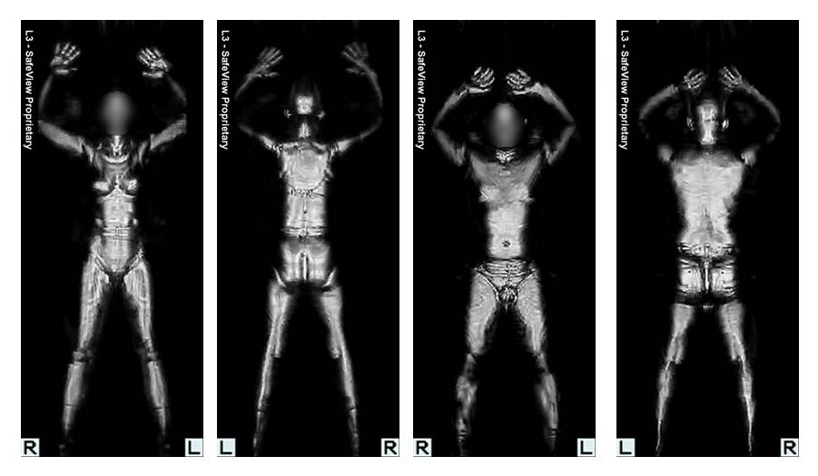 Naked pictures from tsa airpoprt scanners