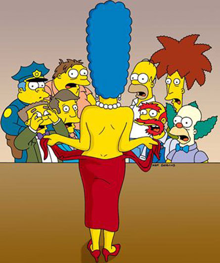 Marge simpsons nude galleries 1