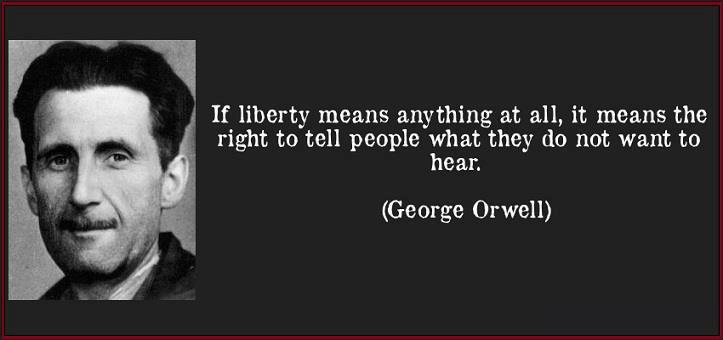 1984 was orwell right The difference, though, is that telescreens weren't owned by most people in orwell's 1984, because they were too expensive in the real world, however, each of us has a hand-held telescreen we .